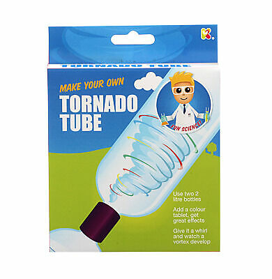 Tornado Tube - Children's Tornado Making Vortex Science Experiment Tube Toy