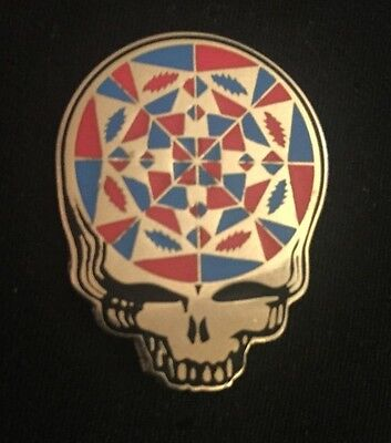 Grateful Dead-Stealie Mandala pin Limited edition Sold Out