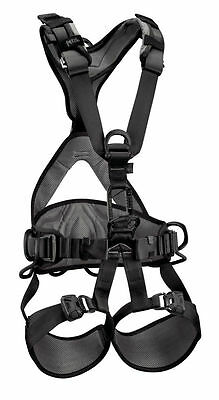 Avao Bod Fast Harness ( Black Size 2 ) Rope Access by PetzL