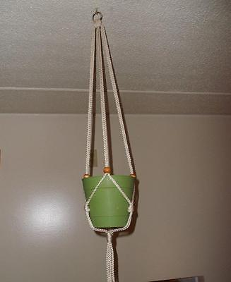 Macrame Plant Hanger Holds A 4 To 10 Inch Pot 38 Long Many Colors
