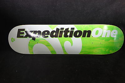 Expedition One Skateboard Deck Price Point Green 7.75 Free Grizzly Grip Tape