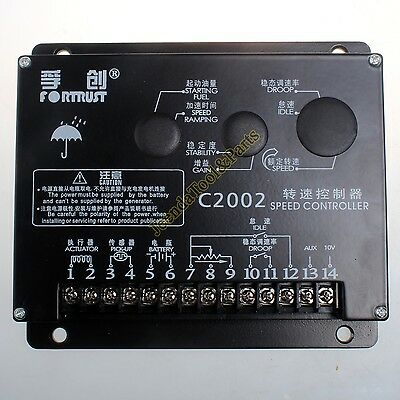 Speed Controller Governor Control Unit C2002 For Generator Genset Spart Parts