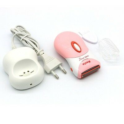 Wet/Dry Double-purpose Rechargeable Electric Women Lady Shaver Body Hair Removal