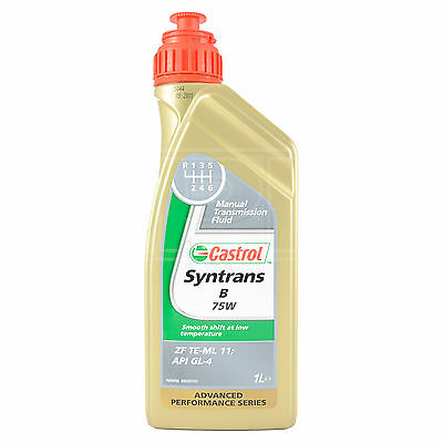 Castrol Syntrans B 75W Fully Synthetic Gear Oil for Manual BMWs 75 W 1 Litre 1L
