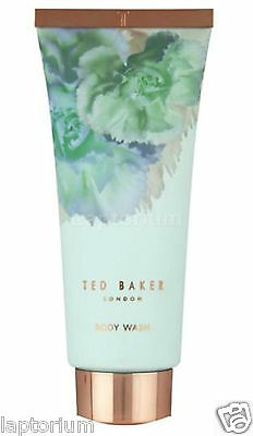 New Ted Baker Mint Blue Scented Body Wash 200ml Perfumed Shower Gel Cleanser