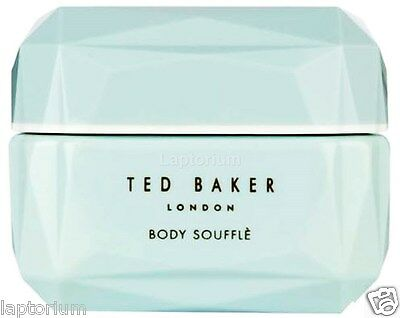 Ted Baker Mint Blue Scented BODY SOUFFLE Floriental Perfumed Butter Cream 300ml