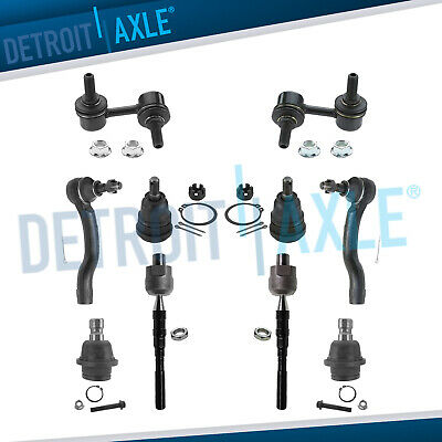 Brand New 10pc Complete Front Suspension Kit for 2005 - 2012 Nissan Pathfinder