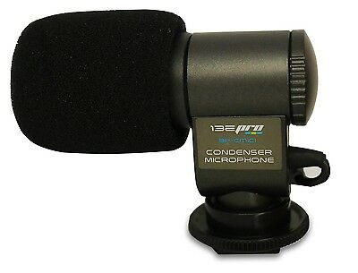 I3ePro Professional Condenser Microphone For DSLR Nikon Canon Sony Pentax