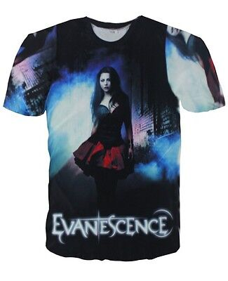 Evanescence Amy Lee All Over Print  Tops  T-shirt # A083