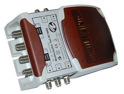 Koscom 5 In x 4 Out NT RMS Multiswitch Terrestrial Passive, Needs Quattro LNB
