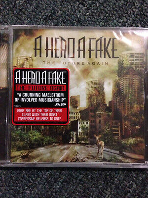The future again- a hero a fake  cd  brand new free postage (b22, B42 X 1)