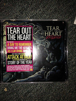 Tear out the heart -Violence   cd  brand new free postage (b22, B42  b71)
