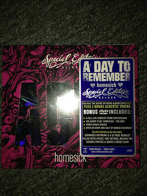 A day to remember Homesick special edition cd  brand new free post b22, B42,b71