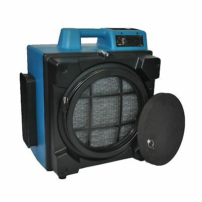 XPOWER X-3400A 1/2 HP 2.8 Amps 700 CFM 3-Stage HEPA Purifier Air Scrubber