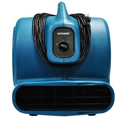 XPOWER P-800 3/4 HP 7.5 Amp 3200 CFM High Velocity Multipurpose Air Mover Dryer