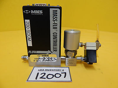 MKS Instruments 2179A22CL1BV Mass Flow Controller 6LV-RD6901-C Used Working