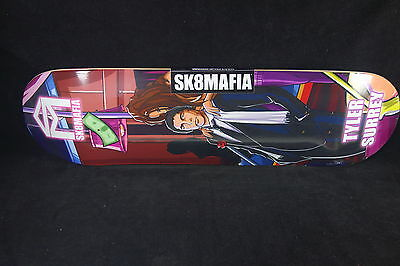 Sk8Mafia Skateboard Deck Club Series Tyler Surrey 8.12 Grizzly Grip Sk8 Mafia