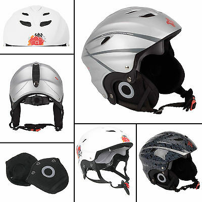 Adults Unisex Summit Ski Snow Boarding Protective Sports Helmets S/M/L Available