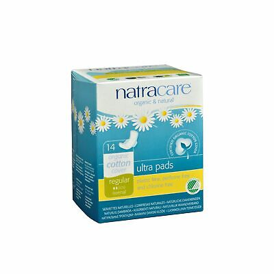 Natracare Natural Ultra Pads Organic Cotton Cover - Regular - 14 Pack X 6