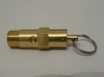 """1/4"""" Bsp 12.0 Bar Air Pressure Safety Relief Valve / For Compressor Switch"""