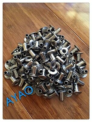 10 X Ayao Stainless steel grommet for 3.2mm wire/rope DIY.