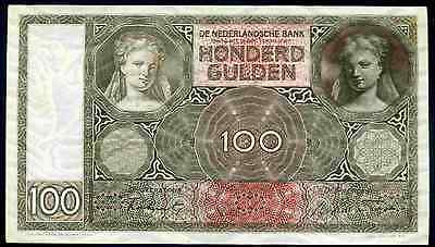Netherlands. 100 Gulden, JM 065122, 21-1-1944. Very Fine.