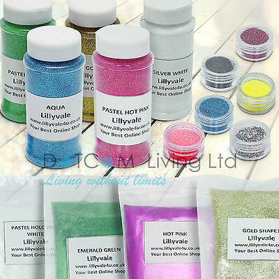 Glitter Wine Glass Craft Holographic Iridescent Nail Art Floristry Dust