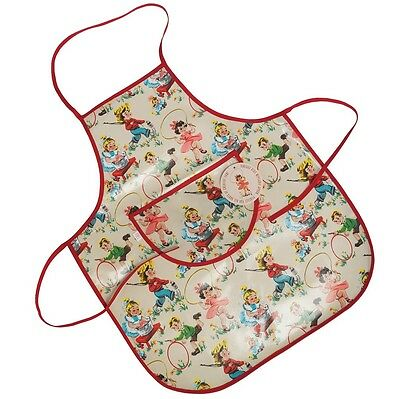 dotcomgiftshop VINTAGE KIDS DESIGN OILCLOTH CHILDRENS APRON