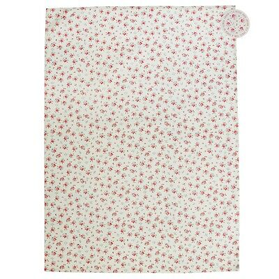 dotcomgiftshop LA PETITE ROSE PRINTED COTTON TEA TOWEL
