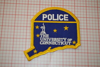 University Of Connecticut Police Patch (T3)