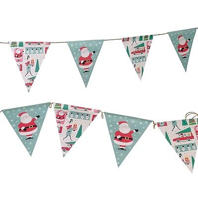 dotcomgiftshop FESTIVE FAMILY CHRISTMAS BUNTING PARTY DECORATION 5 METRES