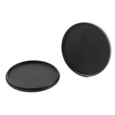 Metal 49/52/58/62/67/72/77/82mm Screw-in Lens Cap Filter Cover Canon  Nikon Sony