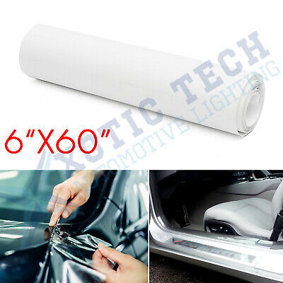 "6x60"" Clear Door Sill Edge Paint Protection Scratches Vinyl film Sheet All Car"