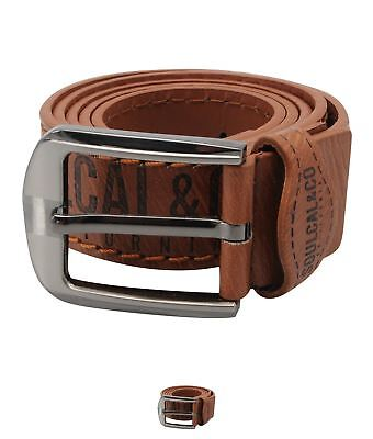 OCCASIONE SoulCal Logo Belt Tan