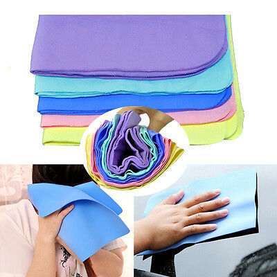 New Magic Car Washing Wipe Towel Cloth Absorber Synthetic Chamois Leather