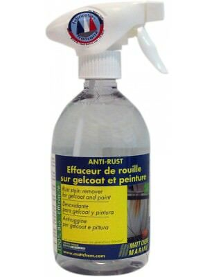 Anti-Rust Effaceur De Rouille Sur Gelcoat Et Peintur Matt Chem Spray 500Ml 937M