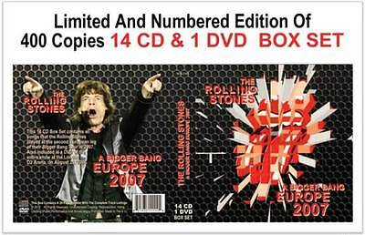 The Rolling Stones - A BIGGER BANG EUROPE 2007 - 14 CD + DVD