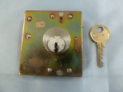 Medeco Lower Lock w/1 Key GTE Quadrum Palco Payphone Pay Phone Protel Elcotel