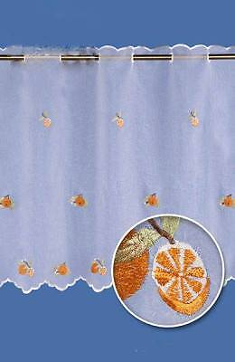 Voile Kitchen Cafe Net Curtain-Sold By Meters