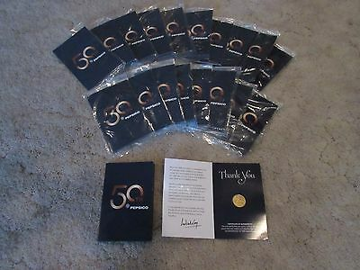 20 Pepsico 50Th Anniversary Limited Edition Pins W/certificate Of Authenticity