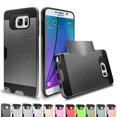 Hybrid Bumper Frame Ultra Slim Protective Case Cover For Samsung Galaxy Note 5