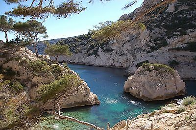 Photo, Wallpaper Digital Picture free ship world wide, French Calanque
