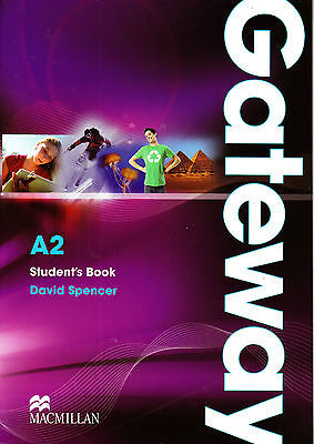 Macmillan GATEWAY A2 Student's Book / Coursebook by David Spencer @NEW@