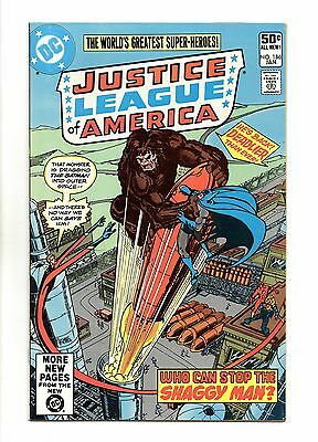 Justice League of America Vol 1 No 186 Jan 1981 (VFN+) Modern Age, Cents Copy