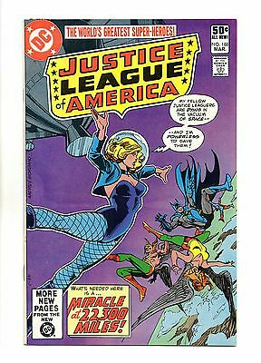 Justice League of America Vol 1 No 188 Mar 1981 (VFN+) Modern Age, Cents Copy
