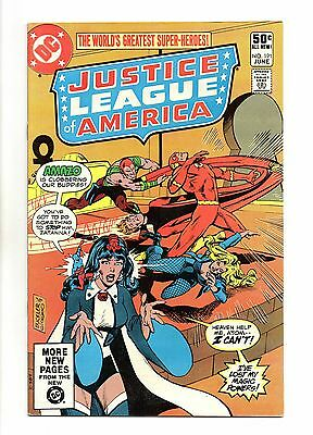 Justice League of America Vol 1 No 191 Jun 1981 (VFN+) Modern Age, Cents Copy
