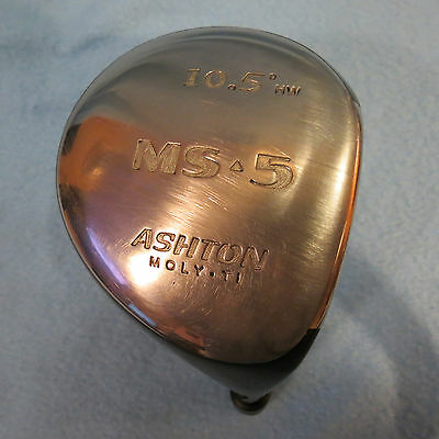Ashton Moly Titanium 430cc  MS-5 Driver Head 10.5 Degree - HW - RIGHT Hand -