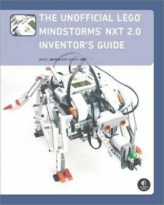 Unofficial LEGO MINDSTORMS NXT 2.0 Inventor's Guide 9781593272159, Perdue, NEW