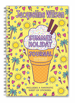 Jacqueline Wilson - My Summer Holiday Journal (Hardback) 9780857533104