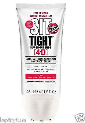 Soap And Glory Sit Tight Super Intense 4-D 125ml Gift